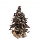 Fir Malum, D30cm, H35cm, brown-natural